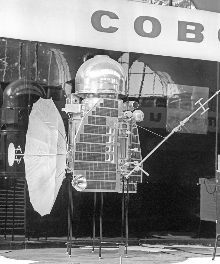 Venera 1 Exhibition Display 1967 Photograph By Ria Novosti