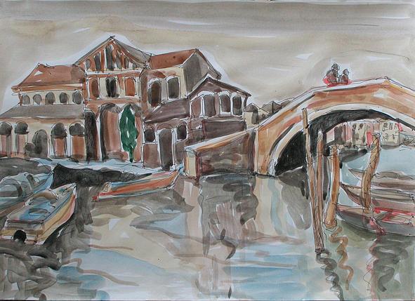 Venetia Painting by Gheorghe Durlea