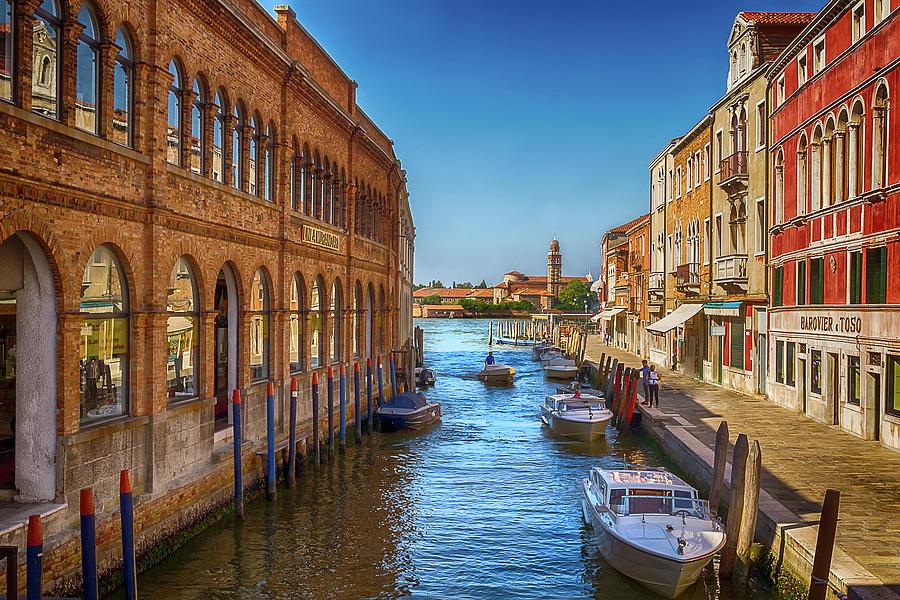 Venetian Canal by Douglas Tate