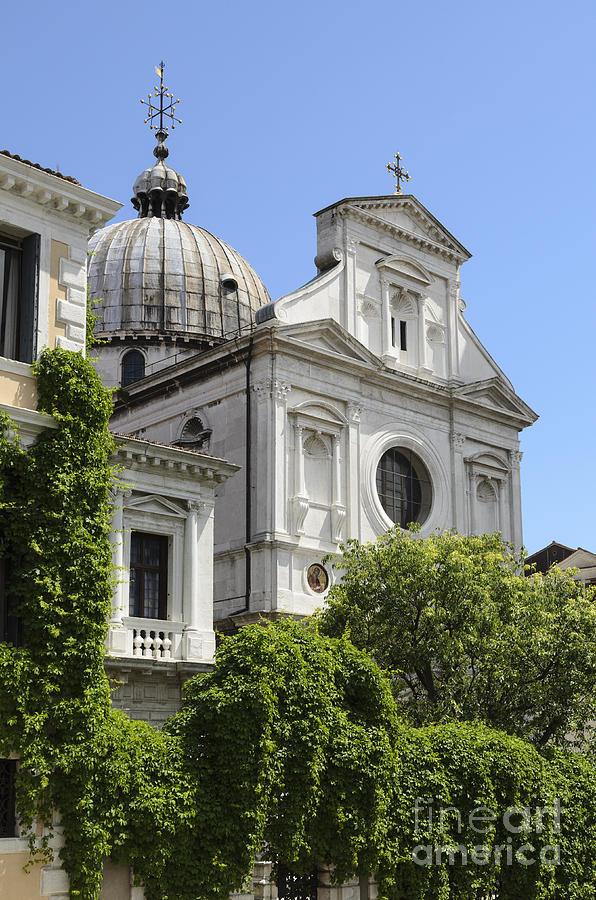 Venice Photograph - Venetian Church by Michael  Winters