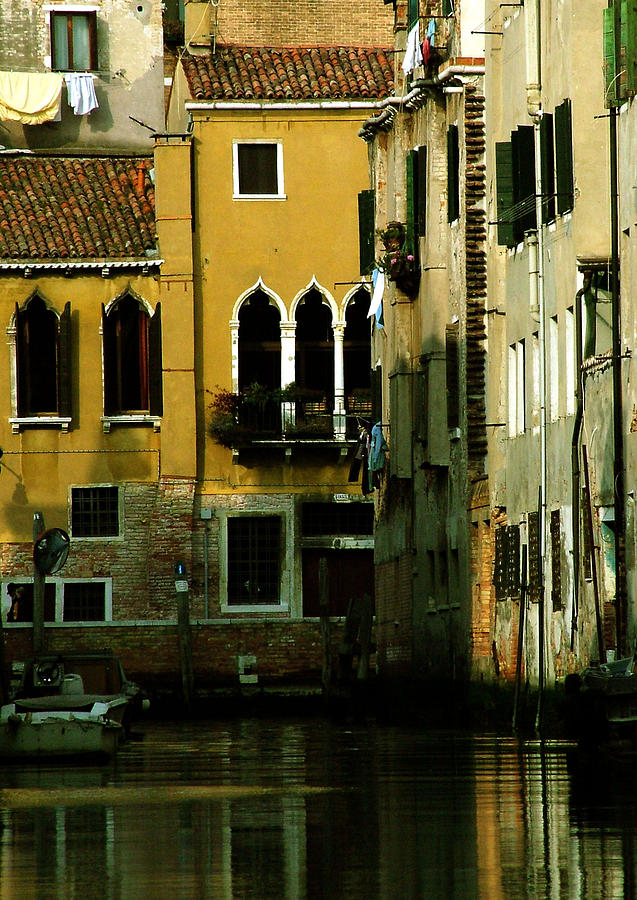 Venice Photograph - Venetian Gold by Donna Corless