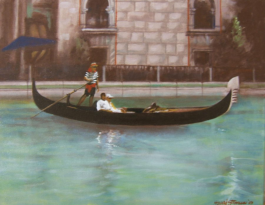 Smooth Sailing Painting - Venetian by Howard Stroman