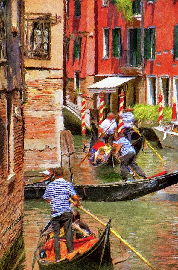 Architecture Painting - Venetian Red by Jeff Kolker