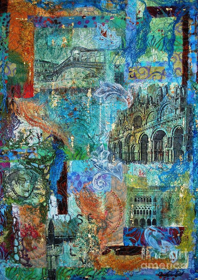 Venice Mixed Media - Venezia 1 by Averil Stuart-Head
