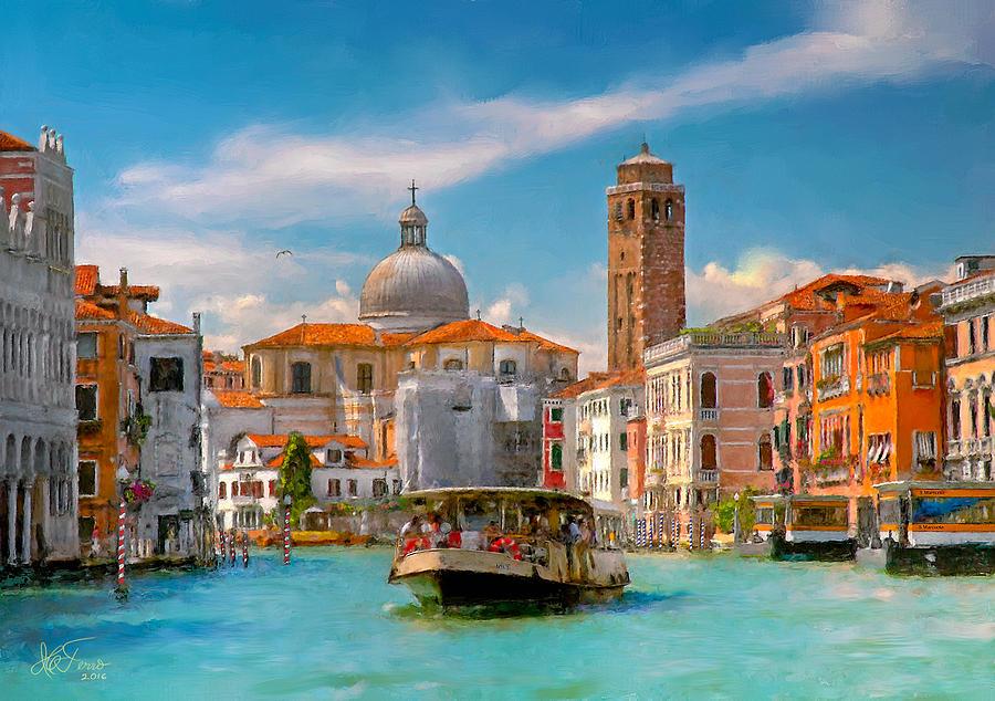 Venezia. Fermata San Marcuola by Juan Carlos Ferro Duque