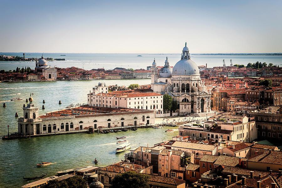 Venice Photograph - Venetian View 1 by Andrew Soundarajan