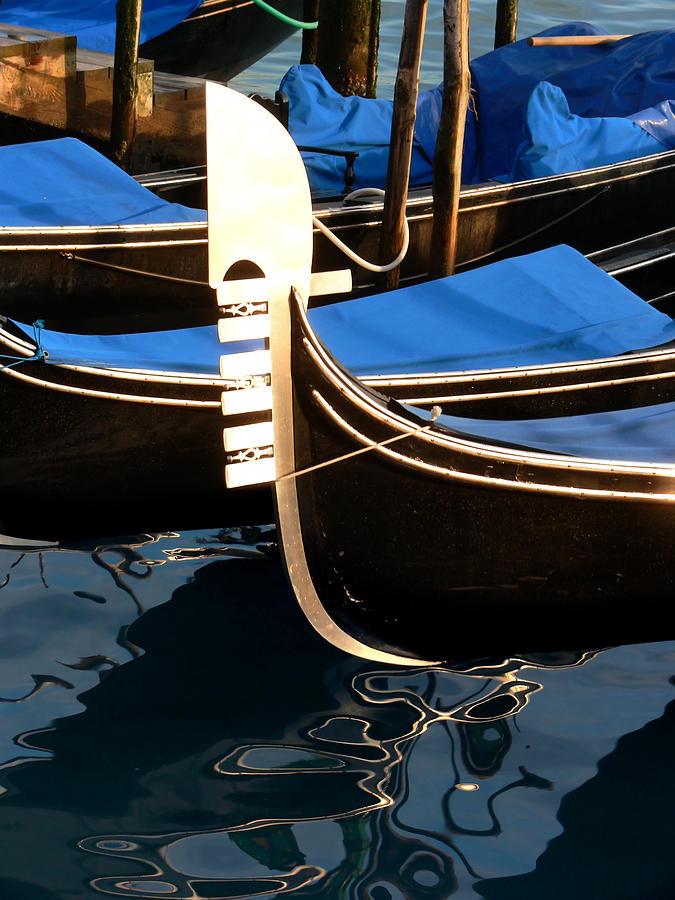 Gondola Photograph - Venice-1 by Valeriy Mavlo