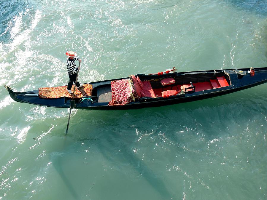 Sea Photograph - Venice-4 by Valeriy Mavlo