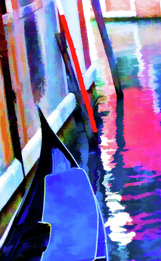venice abstract by Rochelle Berman