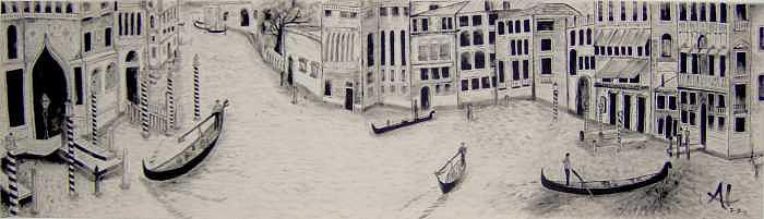 Venice Painting - Venice by Al Borrego