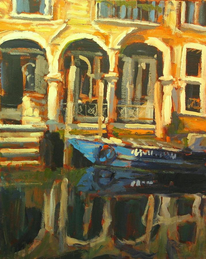 Landscape Paintings Painting - Venice by Brian Simons