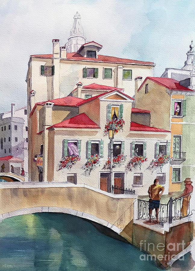 Venice Canal by Harold Teel