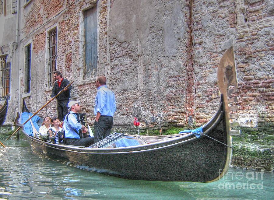 City Pyrography -  Venice Channels by Yury Bashkin