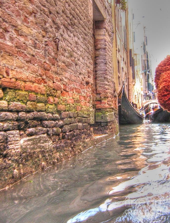 City Pyrography - Venice Channelssss  by Yury Bashkin
