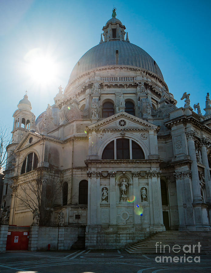 Venice church Photograph by Marc Daly