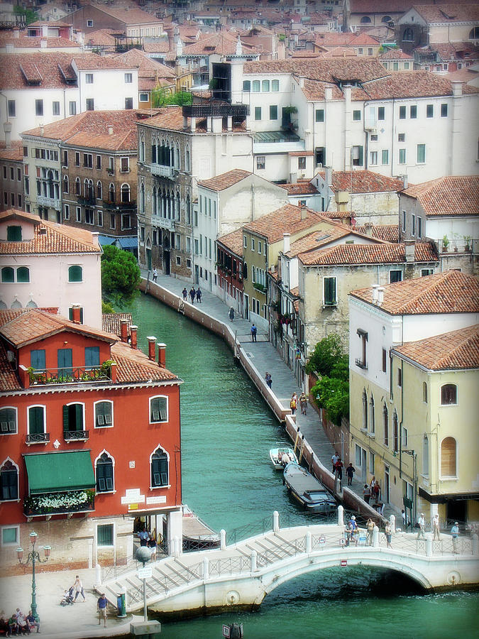 Venice Photograph - Venice City Of Canals by Julie Palencia