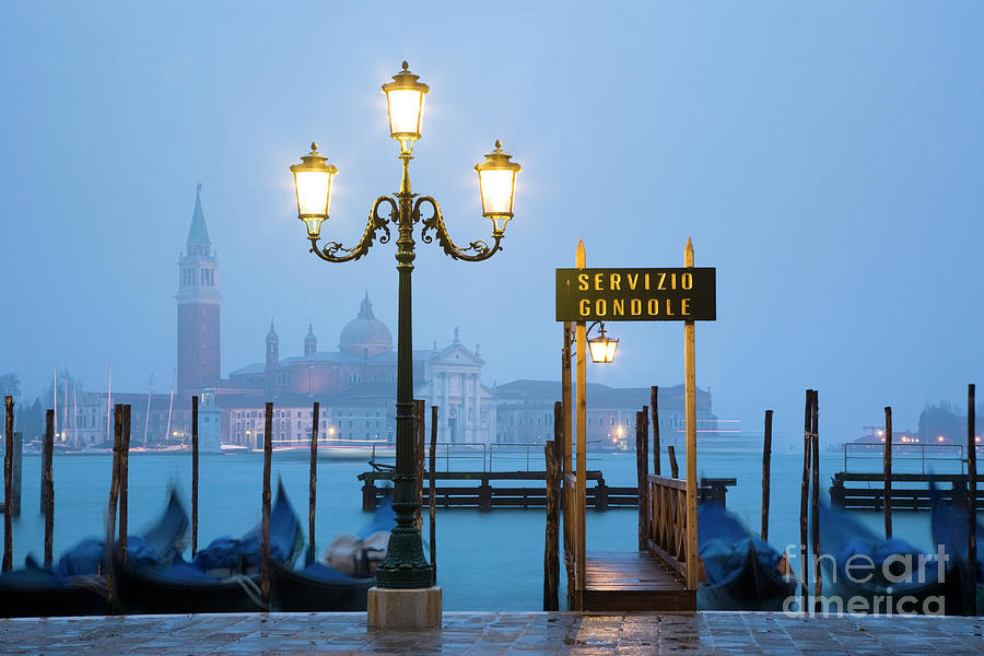 Italy Photograph - Venice Dawn Across The Lagoon by Damian Davies