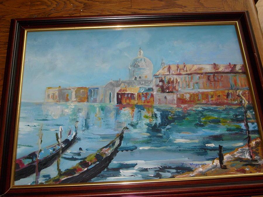City Painting - Venice by Deirdre McNamara