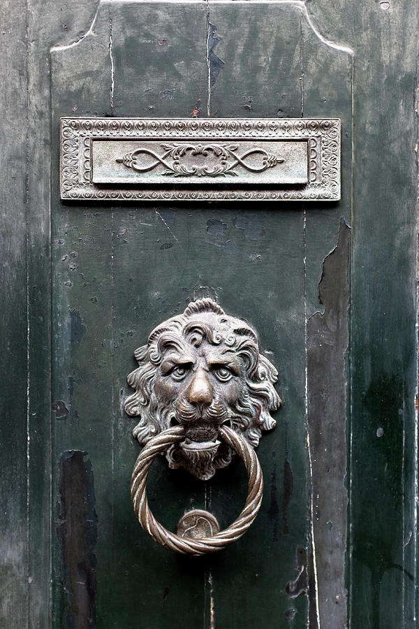 Venice Photograph - Venice Door Knocker by Georgia Fowler