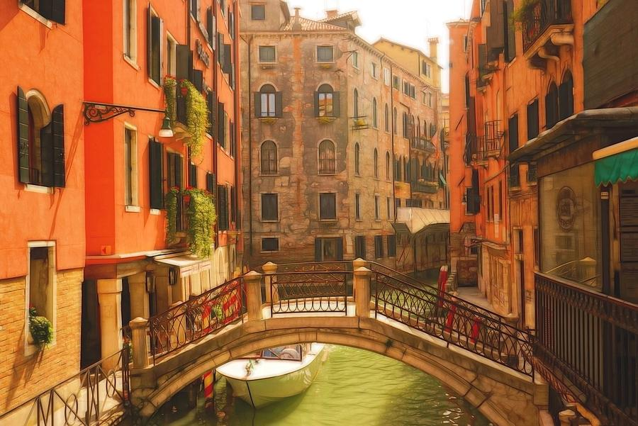 Europe Photograph - Venice Dream by Denise Darby