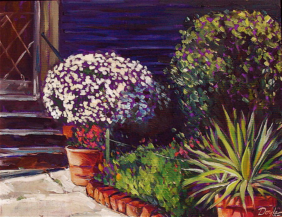 Garden Painting - Venice Entryway by Karen Doyle
