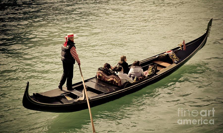 Venice gondola Photograph by Marc Daly