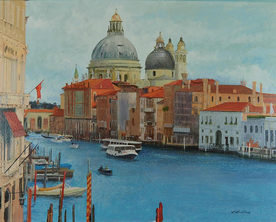 Venice Grand Canal I by E Colin Williams ARCA