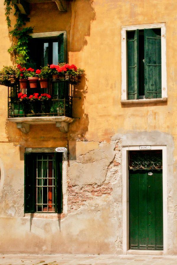 Italy Photograph - Venice Home by Carl Jackson