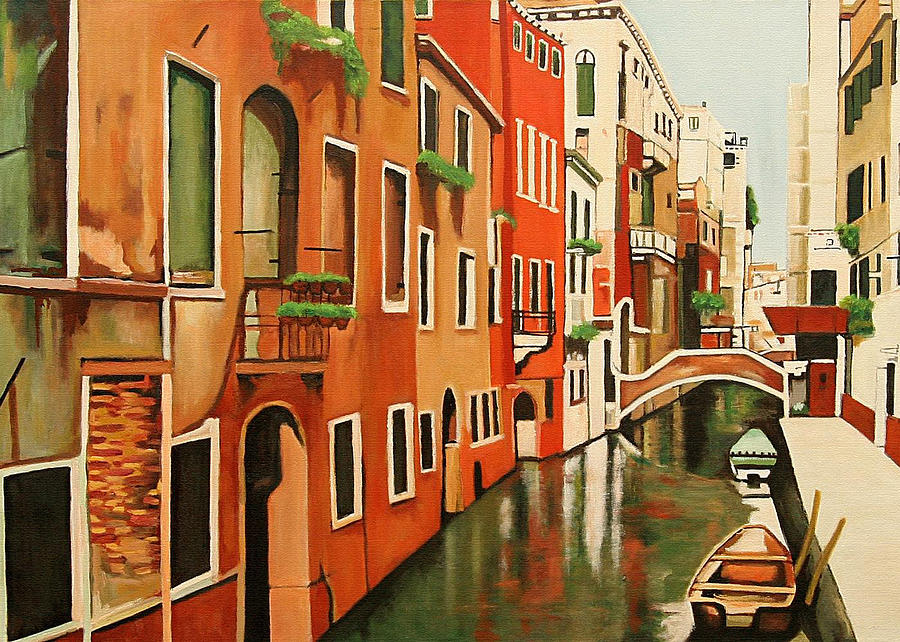 Venice Italy Painting - Venice In Color by Patrick Hunt