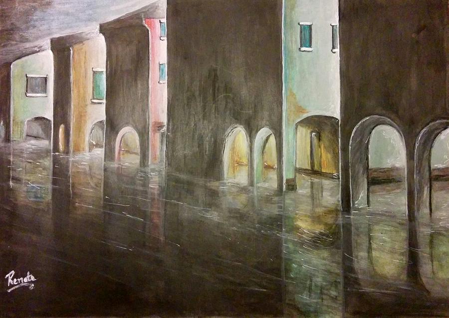 Venice in the Moonlight by Renata Vincoletto