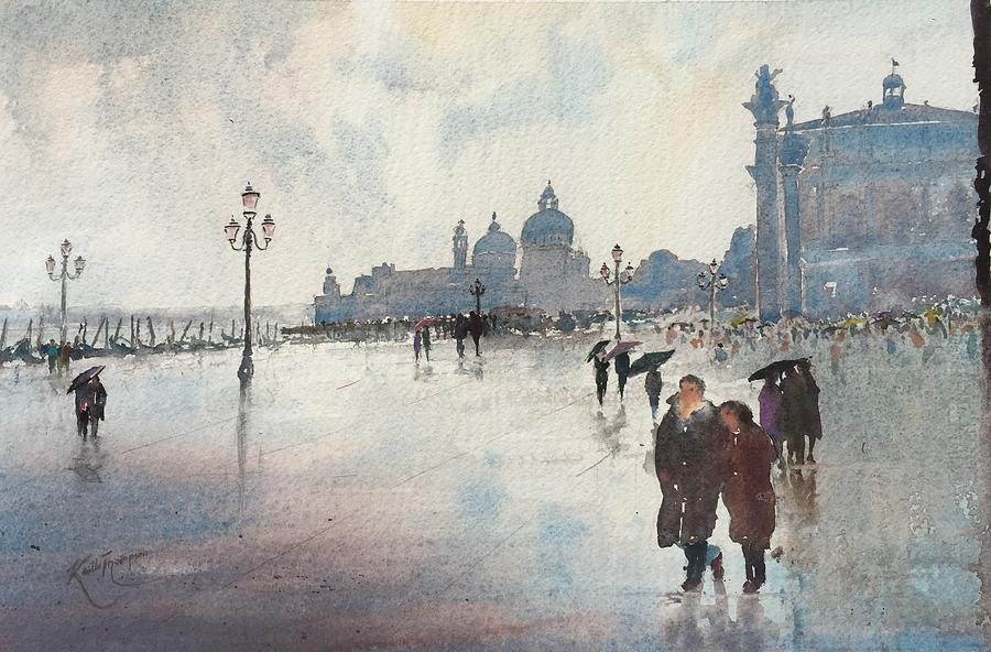 Venice in the Rain by Keith Thompson