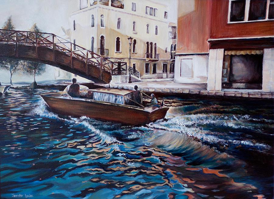 Venice Painting - Venice by Jennifer Lycke