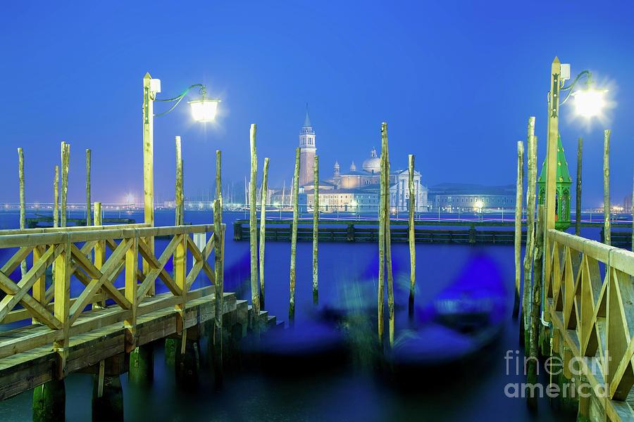 Italia Photograph - Venice Lagoon At Dusk by Damian Davies