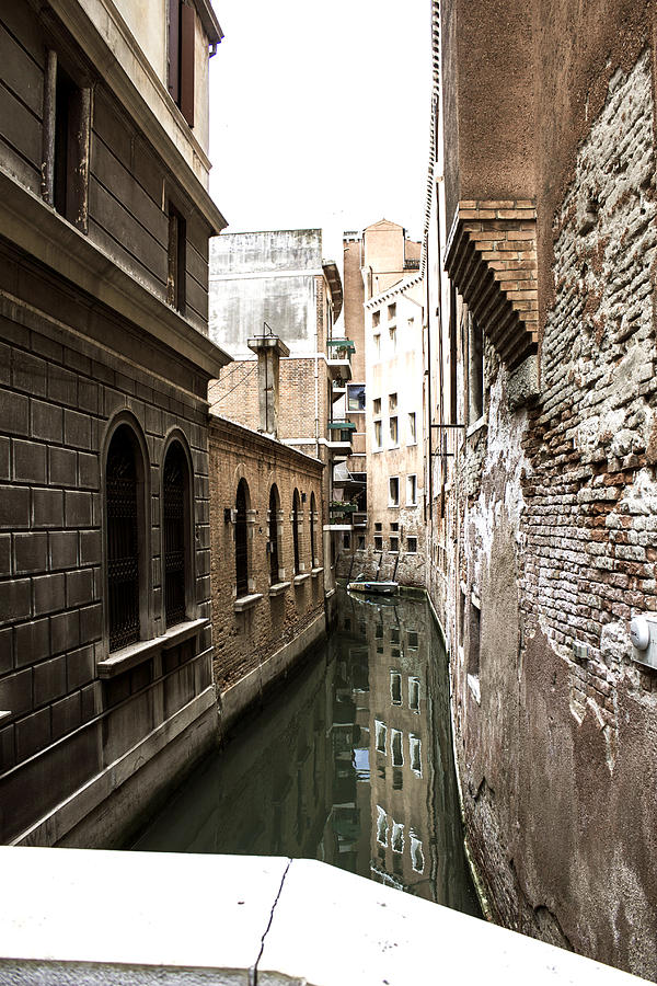 Venice One Way Street Photograph by Milan Mirkovic