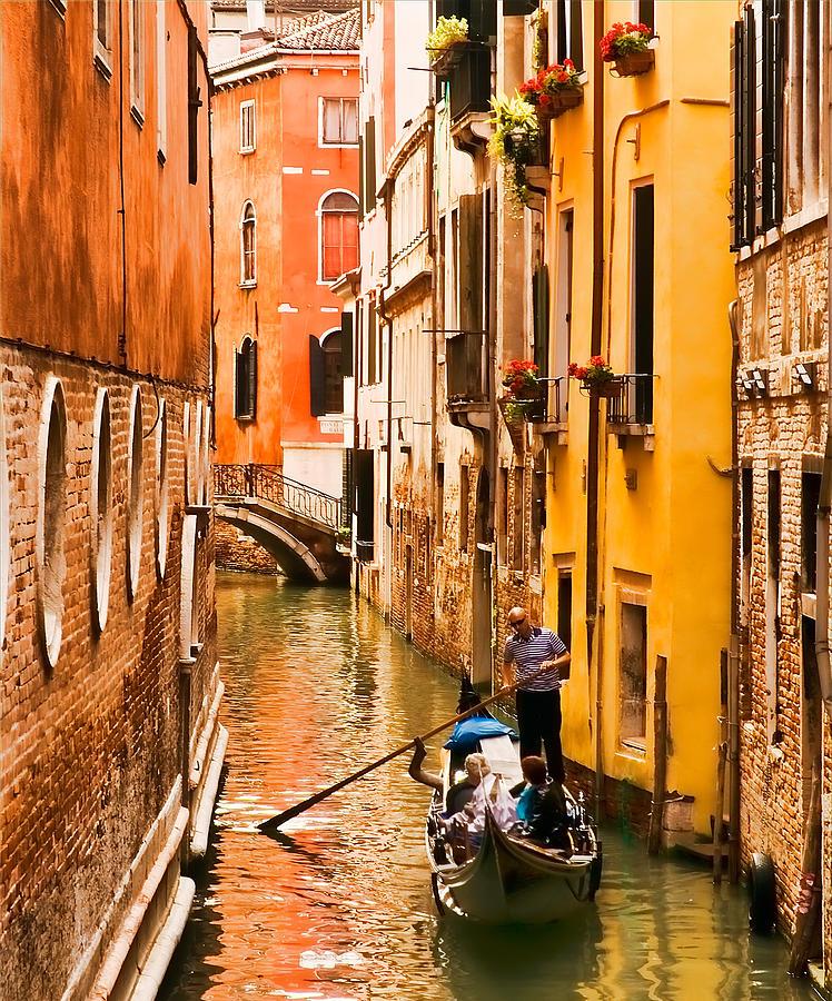Venice Photograph - Venice Passage by Mick Burkey