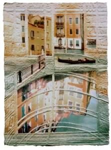 Venice Painting - Venice Reflections by Tomchuk