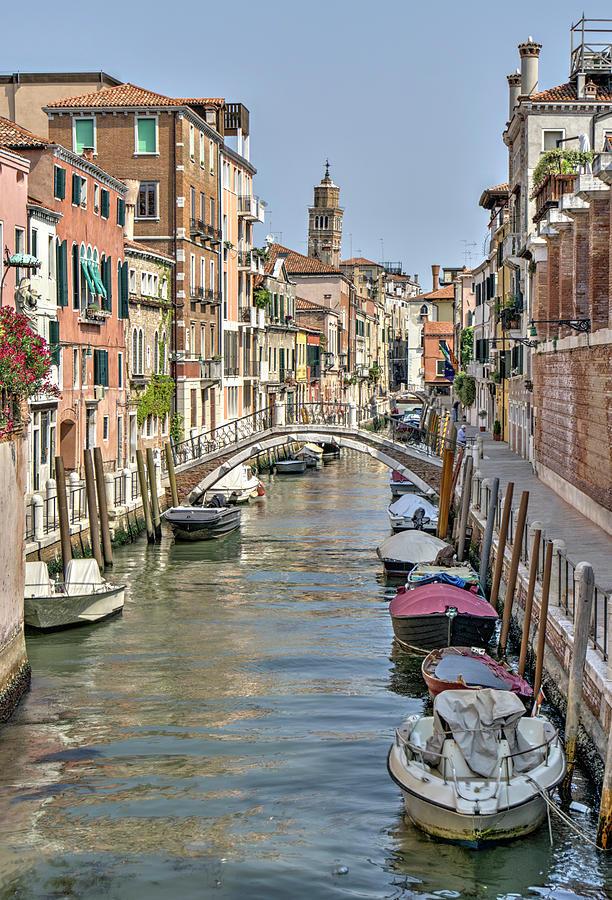 Venice Scene Photograph
