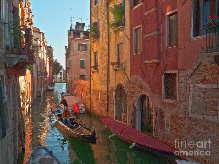 Venice Photograph - Venice Sentimental Journey by Heiko Koehrer-Wagner