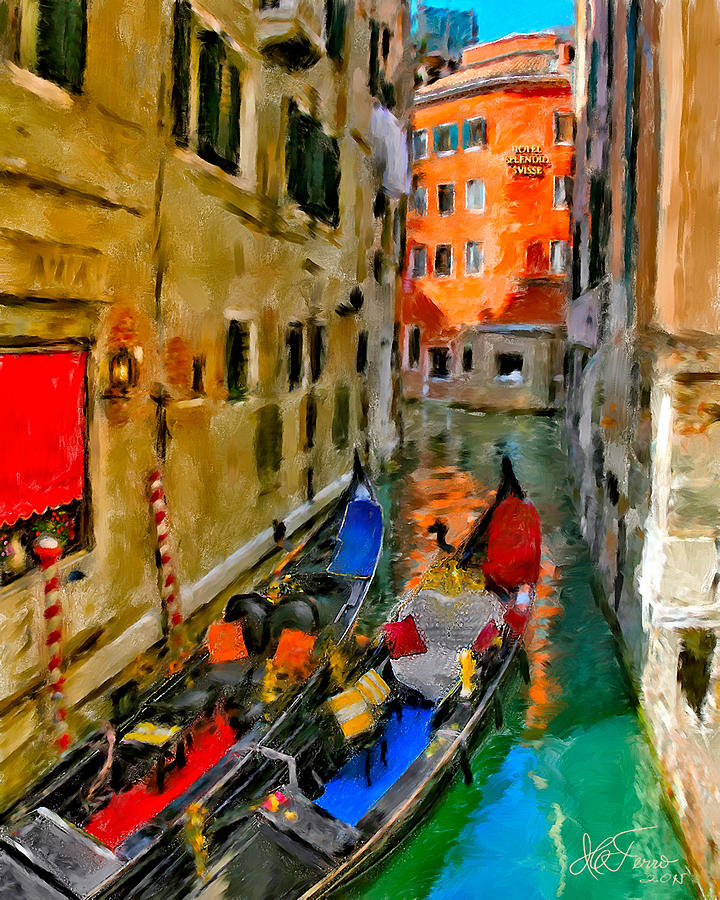Venice. Splendid Svisse by Juan Carlos Ferro Duque