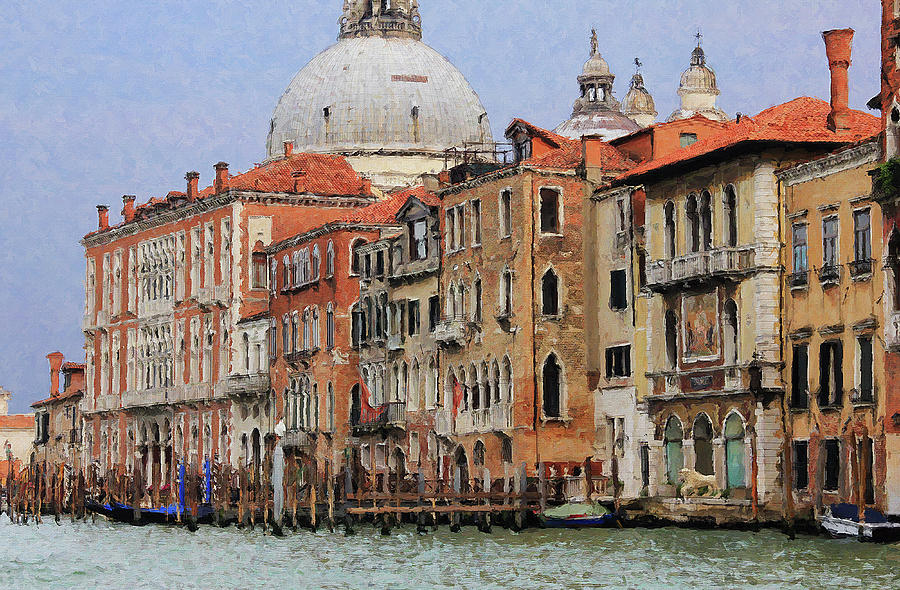 Venice Waterfront by Julian Perry