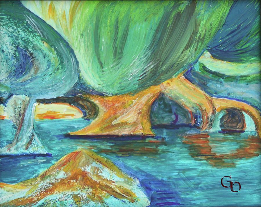 Vensoog - Hidden Lake 2 by Gail Daley