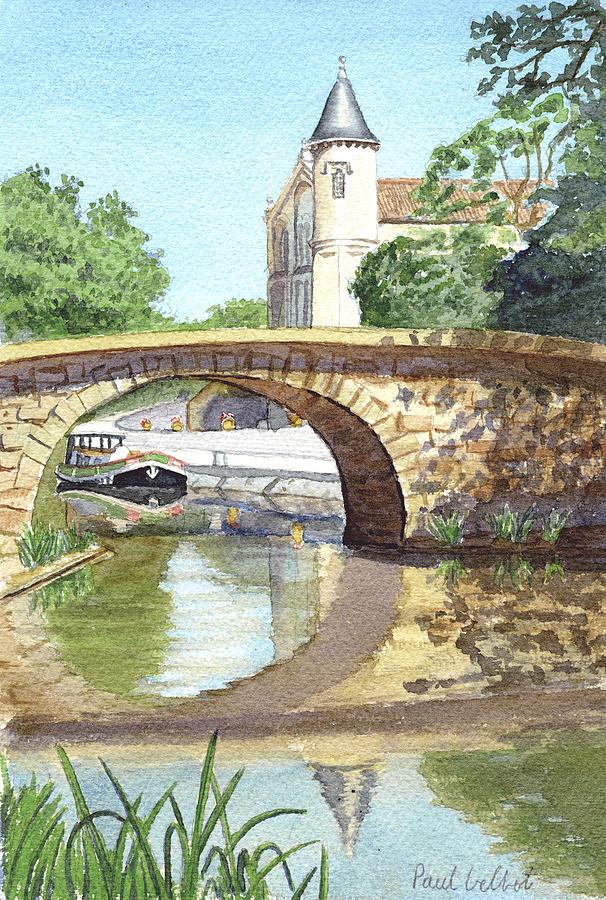 France Painting - Ventenac Iv by Paul Gilbert