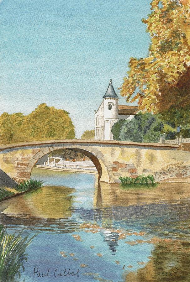 Bridges Painting - Ventenac Vi by Paul Gilbert