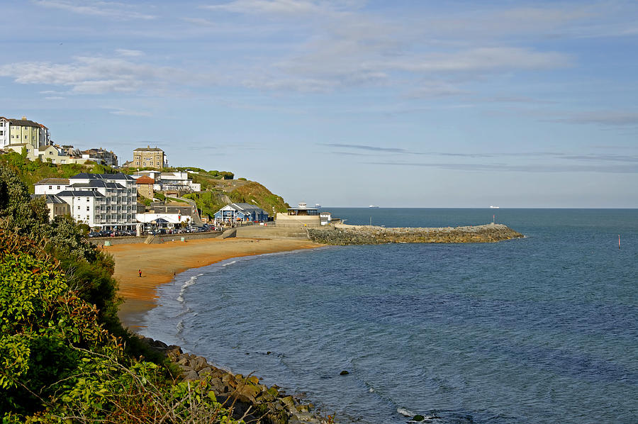 Isle Of Wight Photograph - Ventnor Bay by Rod Johnson