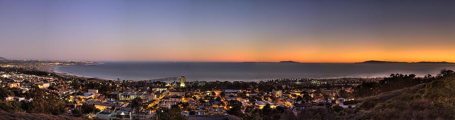 Ventura Photograph - Ventura, Anacapa And Santa Cruz Islands Hdr by Joe  Palermo
