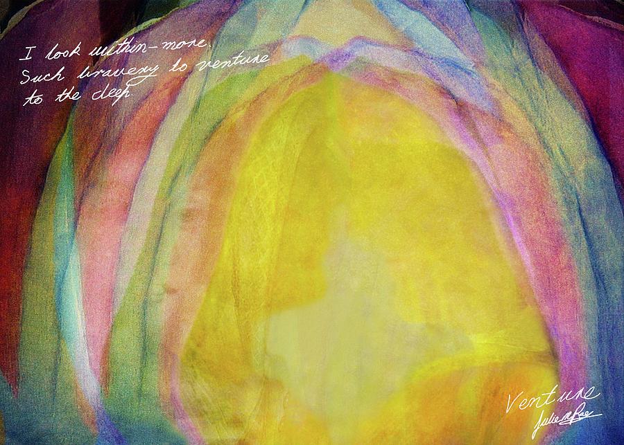 Adventure Digital Art - Venture by Julie m Rae