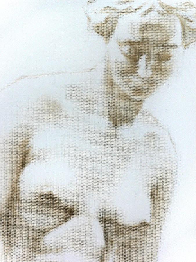 Nude Painting - Venus 1d by Valeriy Mavlo