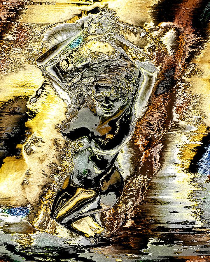 Venus Digital Art - Venus Emerging From The Waves by Peter Lloyd