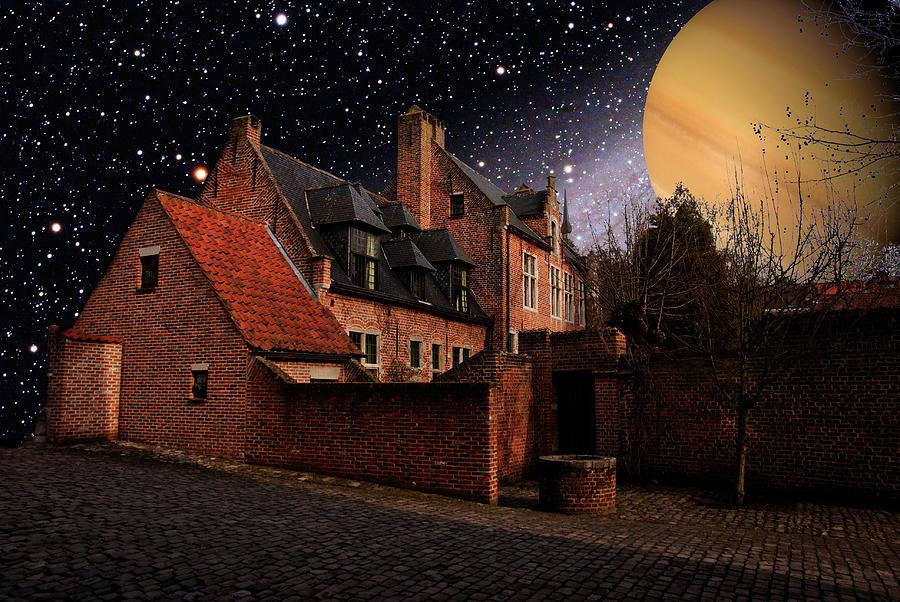 Venus Lights The Houses Photograph by Sandy Viktor Nys