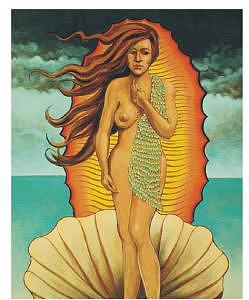 Venus Of Guadalupe Painting by Steven Donnini